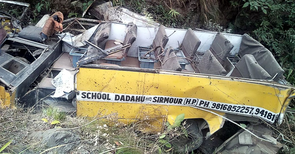 Indias hukkus bussiõnnetuses kümme inimest