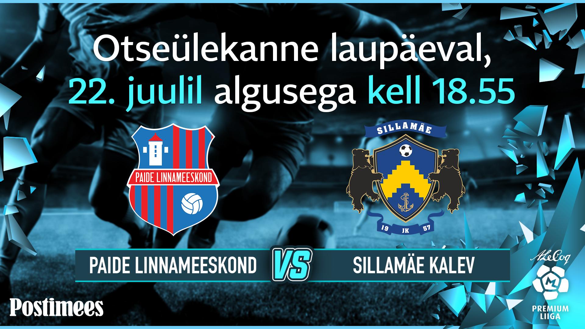 a332100b8f8 Tipphetked: Sillamäe sai võõral väljakul Paide üle selge võidu - Eesti  Premium liiga - Jalgpall - Postimees Sport: Värsked spordiuudised Eestist  ja ...