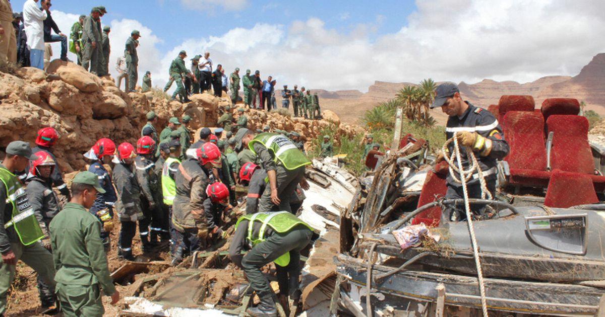 Marokos sai tulvavees ümberläinud bussis surma 11 inimest