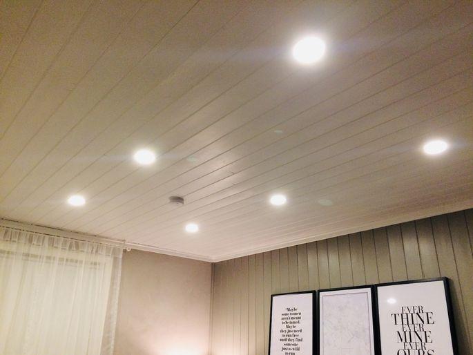 34e12b27bcd Süvistatud valgustid meie magamistoas. Täpselt samasuguseid kasutame  tulevikus kogu korteris, v.a vannitoas.