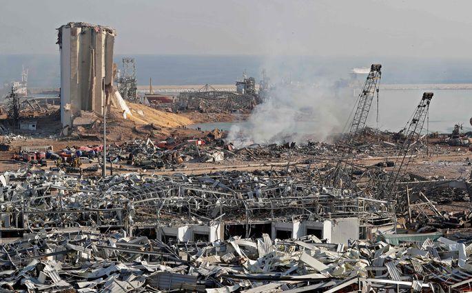 Мощный взрыв в Бейруте: власти заявили, что виновата селитра - За рубежом -  Rus.Postimees.ee