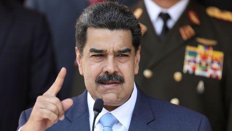 USA esitas Madurole süüdistuse narkoterrorismis