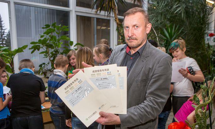 080624e0a87 SARNASED: Sarnaselt hiina keelega nõuab vene keel Maidu Variku sõnul  õpilaselt natuke teistmoodi mõtlemist.