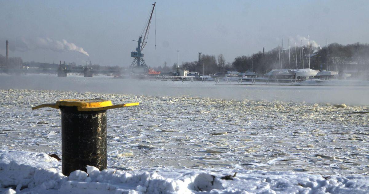 a417797d732 Pärnu lahte katab kohati 40sentimeetrine rüsijää - Uudis.eu