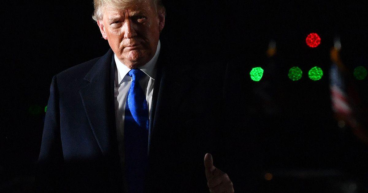 Trump saabus Suurbritanniasse NATO tippkohtumisele