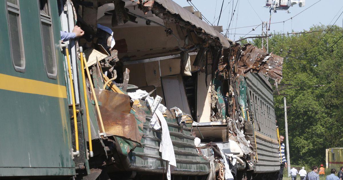 в подмосковье столкнулись грузовой и пассажирский поезда есть жертвы - 9