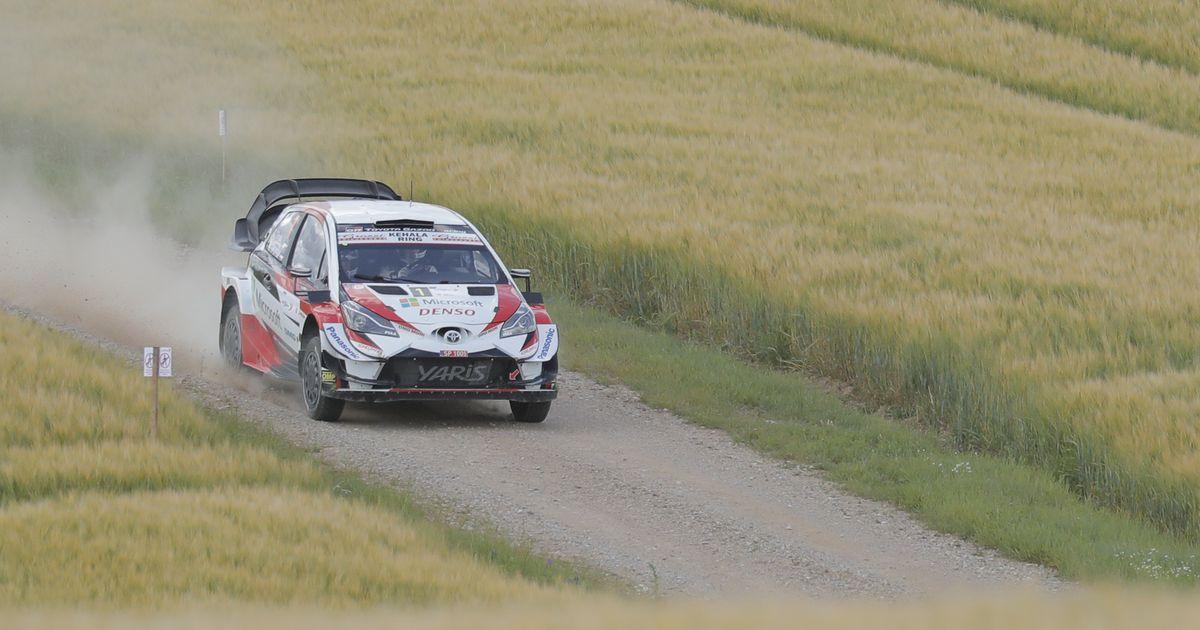 PM Rally Estonial. Järveoja Toyota probleemidest: kui mina autos olin, siis sõit sujus