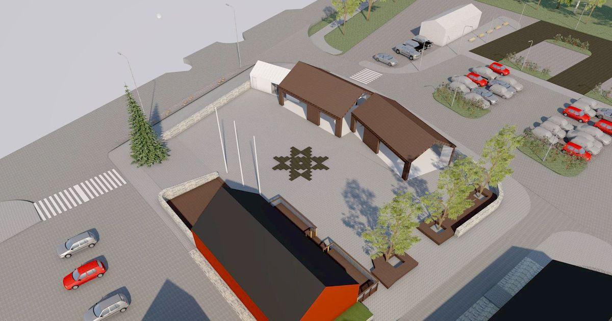 Algab Liiva keskuse turuhoone ehitus