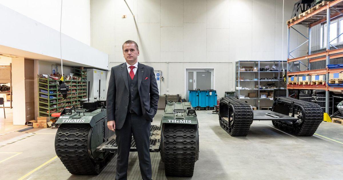 Eesti idufirma müüs Hollandi armeele kaks sõjarobotit